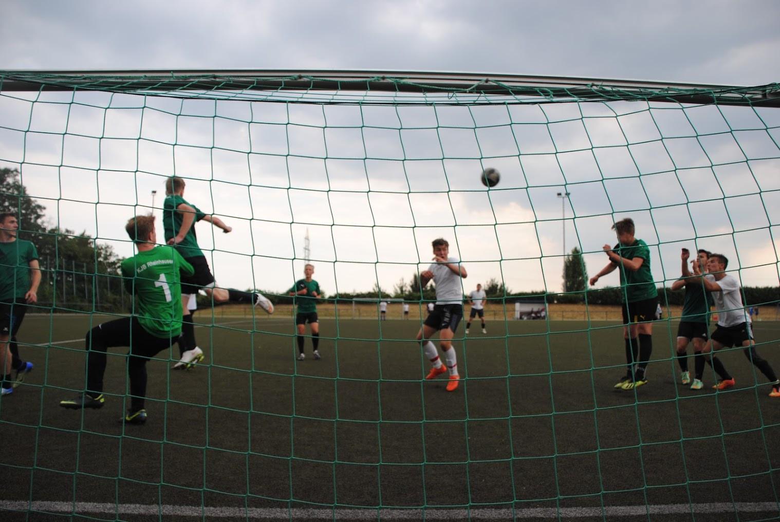 Tor!!! am KJB Fußball Turnier