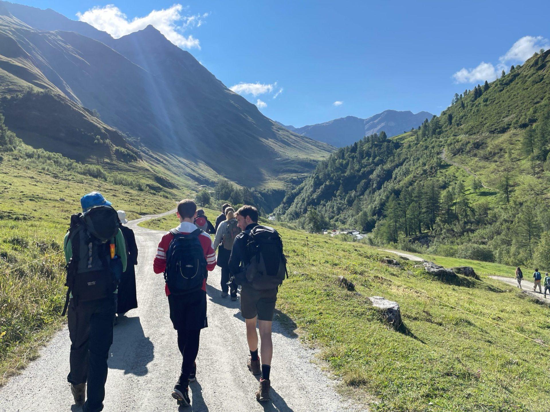 Wandern in den Bergen