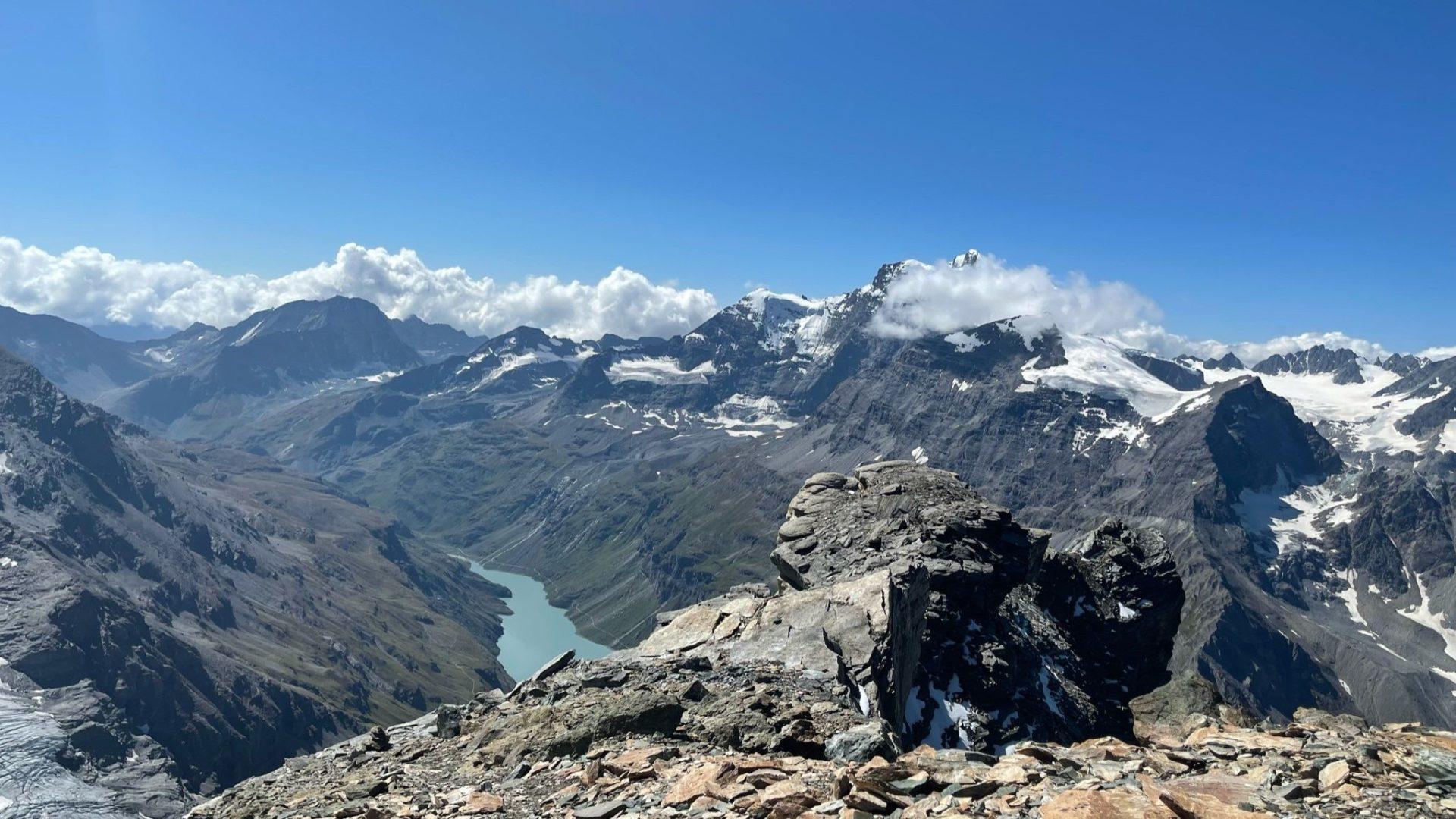 Ausblick Berge