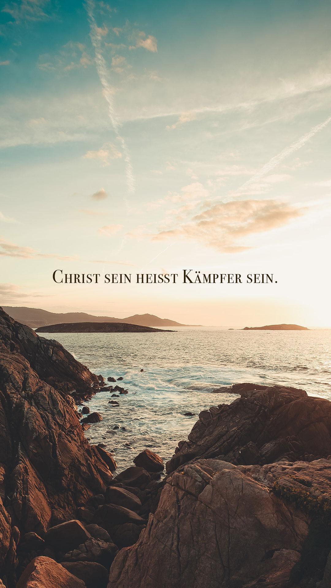 KJB Deutschland Medien: Christ sein heißt Kämpfer sein.