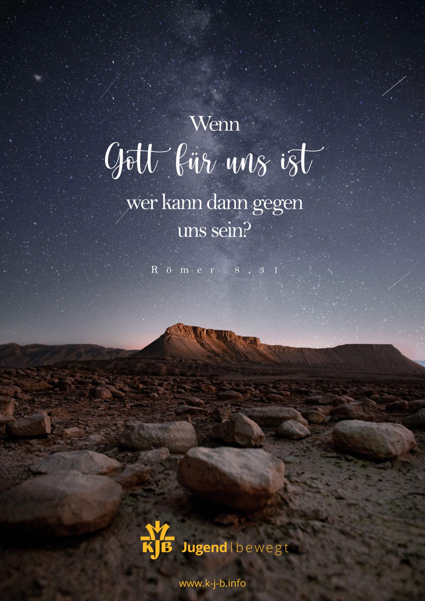 Ausdrucksstarke Bilder: Wenn Gott für uns ist