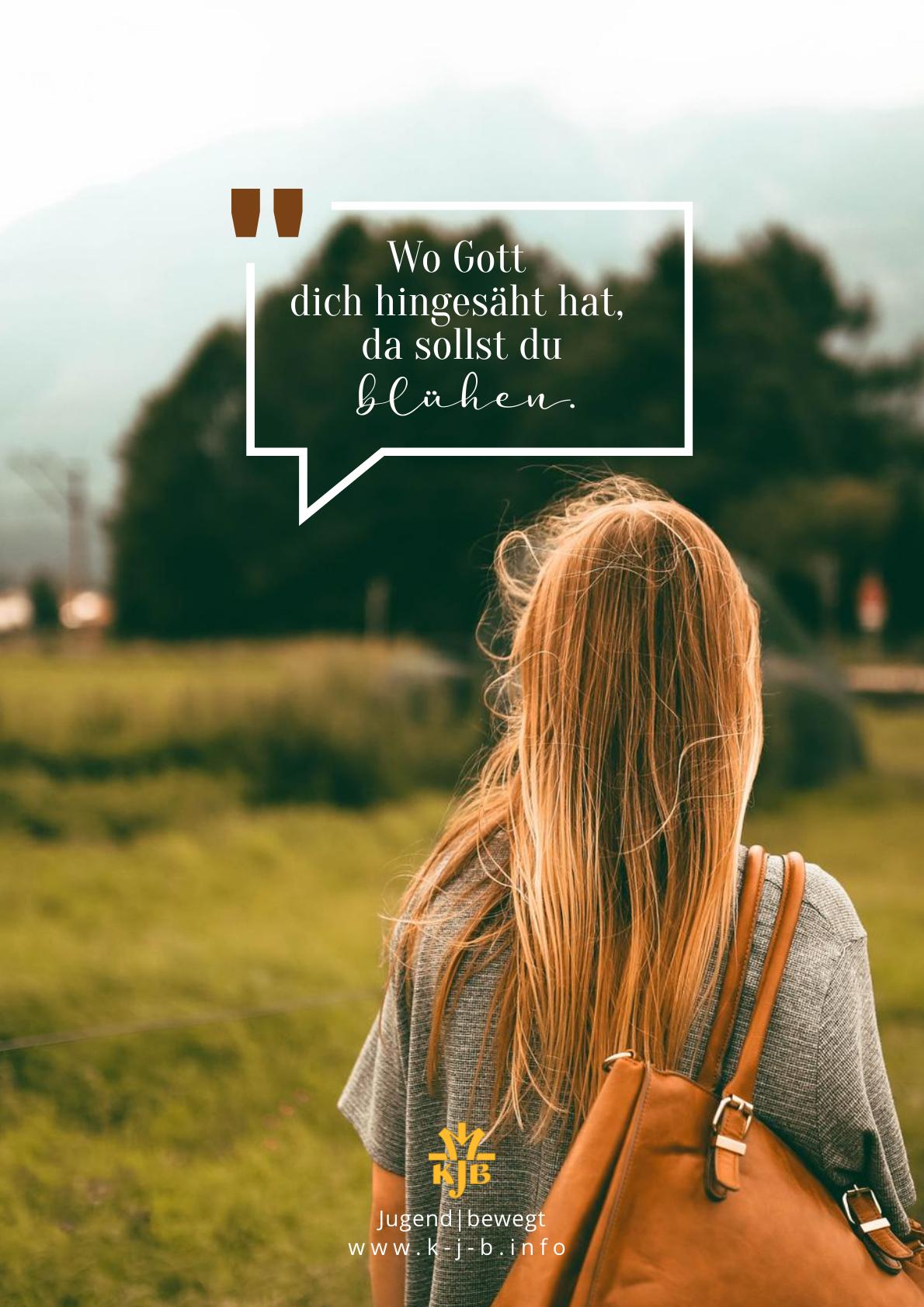 Ausdrucksstarke Bilder: Wo Gott dich hingesäht hat